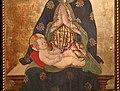 Maestro dei polittici crivelleschi (matteo o giacomo da campli), madonna in trono col bambino e cristo in pietà, 1489 (l'aquila, museo naz.le d'abruzzo) 03.jpg