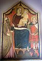 Maestro di barberino, madonna col bambino, un santo vescovo e s. michele arcangelo, 1365 ca, collez. privata.JPG
