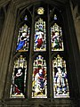 Magnificent stained glass window on the south wall at Winchester Cathedral - geograph.org.uk - 1162906.jpg