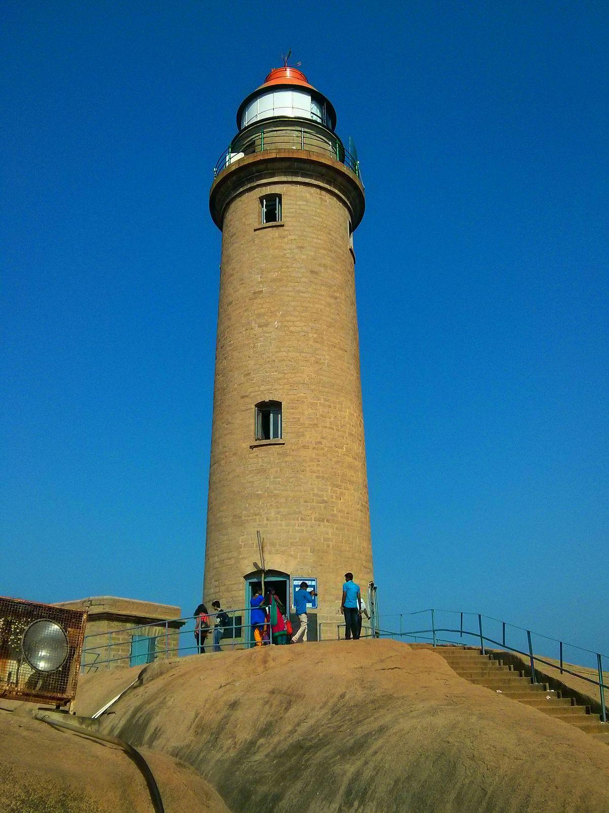 Lighthouse Natural Stone : Mahabalipuram lighthouse wikipedia