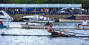 Mahe Drysdale at the 2009 Henley Royal Regatta