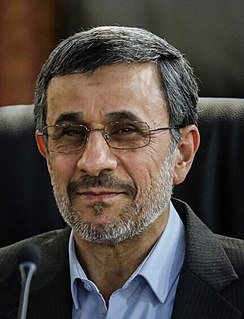 Mahmoud Ahmadinejad 6th President of Iran (2005–2013)