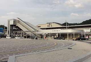 Maibara Station Railway station in Maibara, Shiga Prefecture, Japan