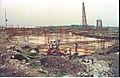 Main Auditorium Under Construction - Convention Centre Complex - Science City - Calcutta 1994 391.JPG