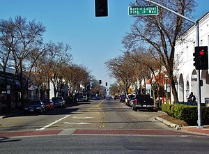 Merced, California - Main Street in Merced California