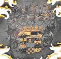 Mainz Augustinerkirche Deckengemälde Wappen Eltz 02.jpg