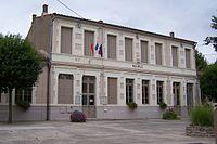 Mairie de Aigues-Vives (Aude).JPG