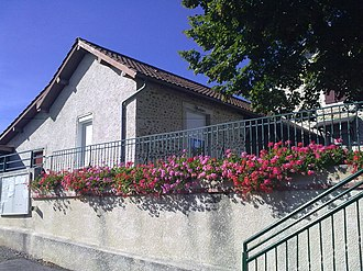 Saint-Armou - The town hall of Saint-Armou