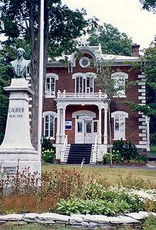 Musée Laurier à Victoriaville, résidence personnelle de Sir Wilfrid Laurier à Arthabaska