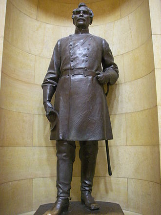 James Shields (politician, born 1806) - Statue of Shields at the Minnesota State Capital