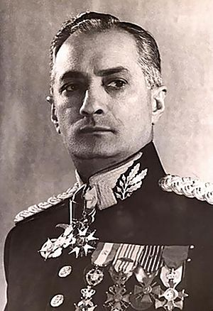 José Pessoa Cavalcanti de Albuquerque - Jose Pessoa in last years of his military career.