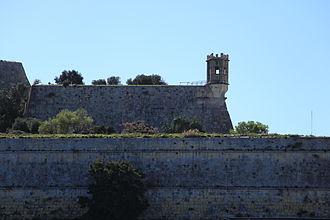 Floriana Lines - San Salvatore Bastion and Counterguard