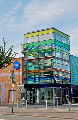Manchester Academy - Exterior view of 'Academy 1' (c.2009)