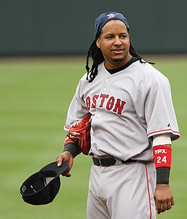 Manny Ramirez Dominican-American baseball player