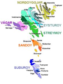 Regions of the Faroe Islands - Wikipedia