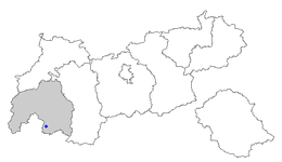 Location of Nauders within Tyrol