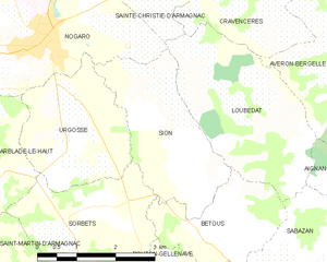 Map commune FR insee code 32434.png