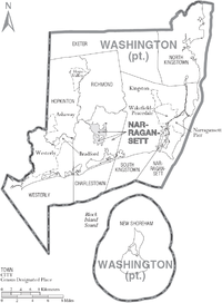 Map of Washington County Rhode Island With Municipal Labels.PNG