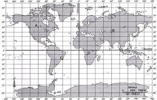 Mapa coordenadas geográficas editado