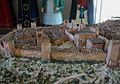 Maqueta de la vila medieval d'Albaida, segles XIII-XIV.JPG