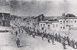 Armenier mindes folkmordet 1915