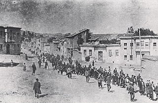 Systematic killing of Armenians residing in the Ottoman Empire