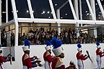 Marching band performs at 57th Presidential Inauguration Review Stand 130121-Z-QU230-264.jpg