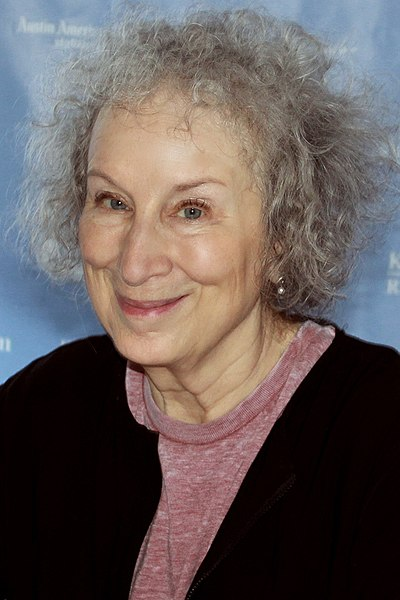 Picture of an author: Margaret Atwood