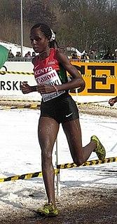 Margaret Wangari Muriuki Kenyan runner