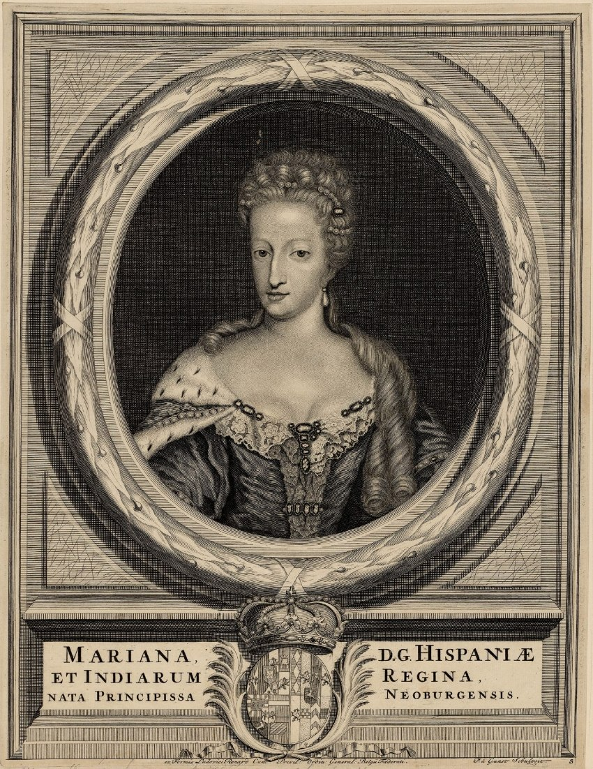 Maria Anna of Neuburg as Queen of Spain