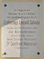 Maria Schnee, Irenental 04 - plaque.jpg