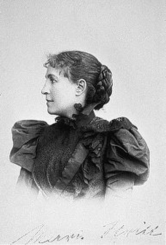 International Alliance of Women - Co-founder Marie Stritt, German feminist (1855-1928)