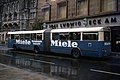 Marienplatz Munich Germany Articulated Bus 1970s.jpg