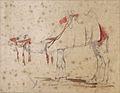 Marilhat P. attr. (après?) - Pencil, Watercolor - Etude d'un chameau - ~26x20cm.jpg