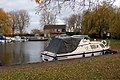 Marina moorings at Bridge Boatyard, Ely - geograph.org.uk - 1619992.jpg