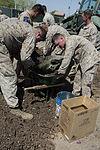 Marines recover, clean debris from Harrier crash in California 140609-M-HL954-106.jpg