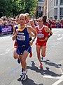Marius Ionescu (Romania) Viktor Rothlin (Switzerland) - London 2012 Men's Marathon.jpg