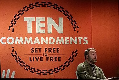 Mark Driscoll preaching on the Ten Commandments at Mars Hill Church.jpg