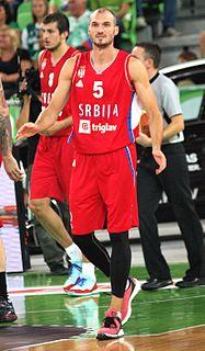 Serbian professional basketball player