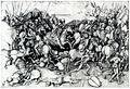 Martin Schongauer - Der heilige Jakobus d.Ä. in der Schlacht (L 116).jpg