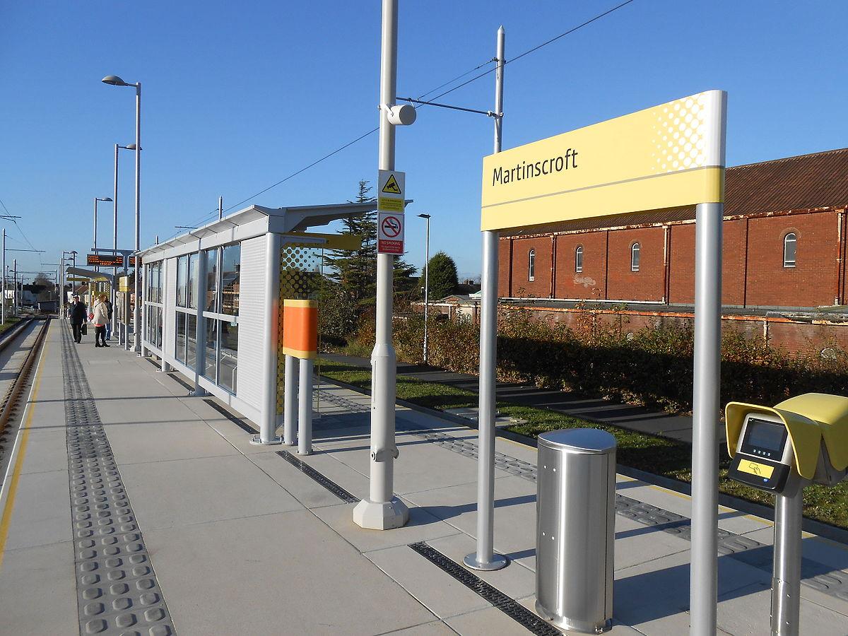 martinscroft tram stop