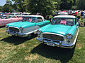 Matching pair of 1958 Metropolitans by American Motors at 2015 Macungie show.jpg