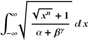 Prettyprint - A typeset mathematical expression