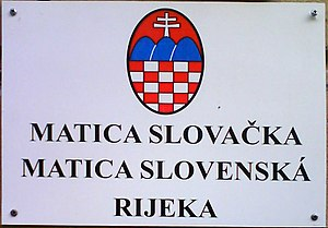 Slovaks of Croatia - Association of Slovaks in Rijeka