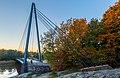 Matinkaari Bridge in Viikki, Helsinki, 2021 October.jpg
