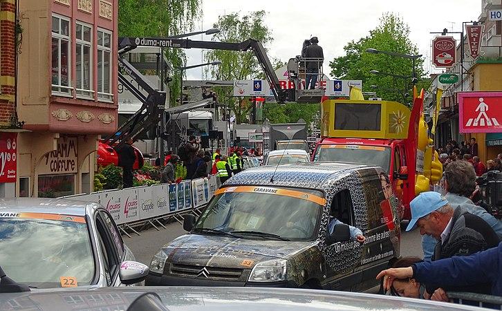 Maubeuge - Quatre jours de Dunkerque, étape 2, 7 mai 2015, arrivée (A12).JPG