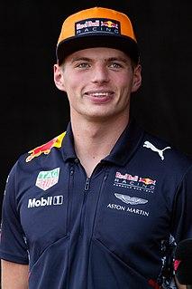 Max Verstappen Racing driver