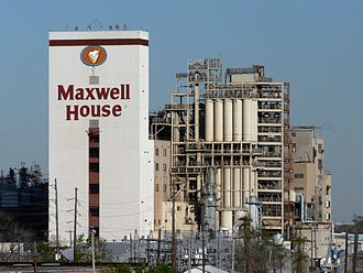 Maxwell House - A former Maxwell House factory located in Houston, Texas