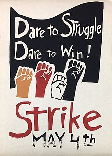 Student strike of 1970 student protest