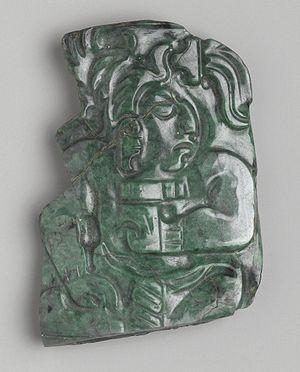 Jadeite - Image: Maya. Plaque, 600 900 C.E., L56.10.2